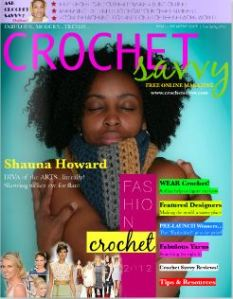 Crochet Savvy Premier Issue may 2012